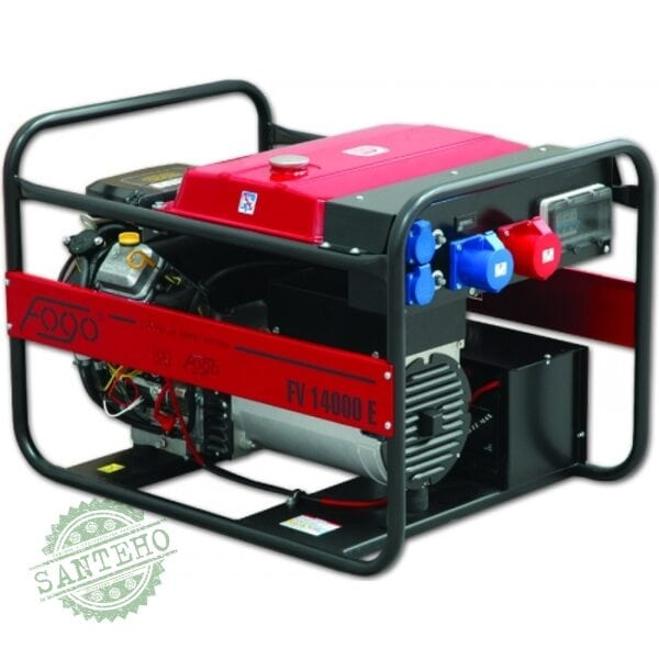 Генератор бензиновый Fogo FV 15000 E - 3 фазный