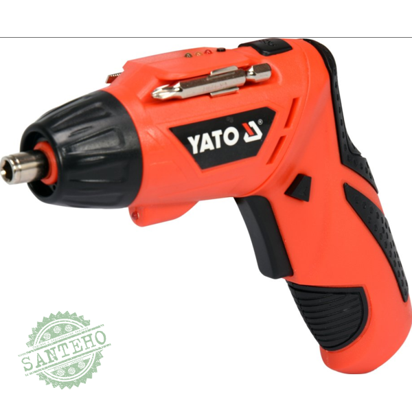 Аккумуляторная отвертка Yato YT-82760
