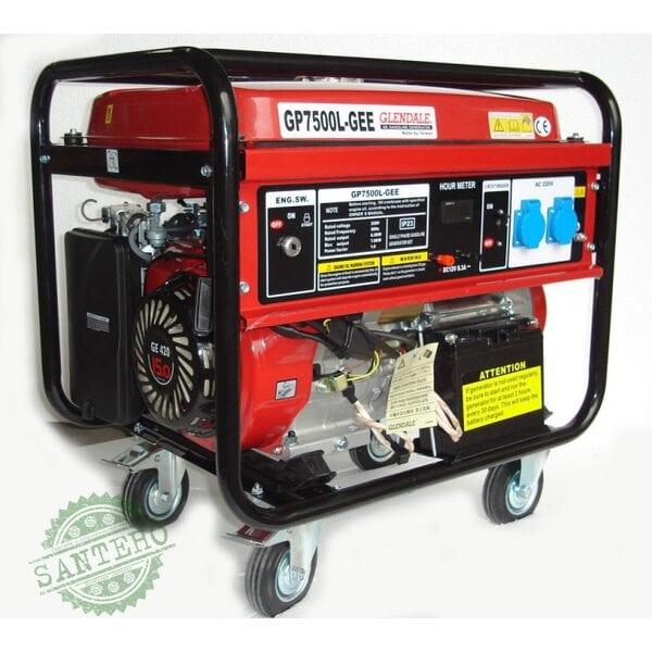Бензиновый генератор Glendale GP7500L-GEE/1(автоматика)