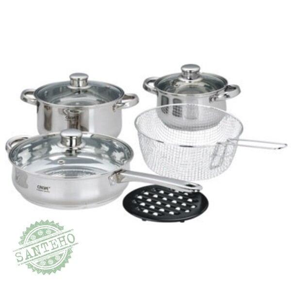 Набір посуду CALVE 9 предметів CL-тисячі шістьдесят-п'ять