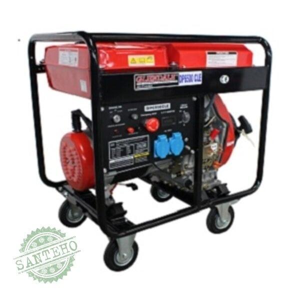 Дизельный генератор Glendale DP6500-CLX/1