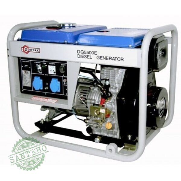 Дизельный генератор Odwerk DG 5500 E, купить Дизельный генератор Odwerk DG 5500 E