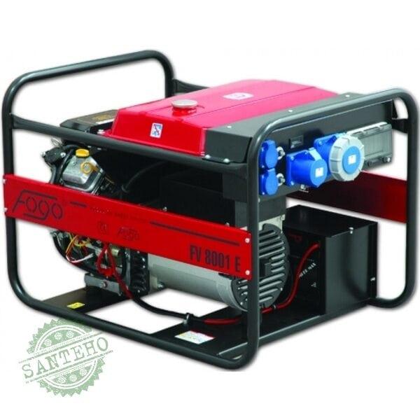 Генератор бензиновый Fogo FV 8001 E - 1 фазный