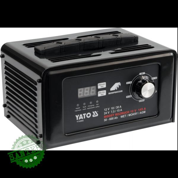 Пуско-зарядний пристрій YATO YT-83052