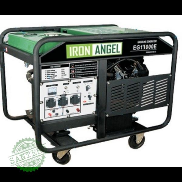 Генератор бензиновый IRON ANGEL EG 11000E, купить Генератор бензиновый IRON ANGEL EG 11000E