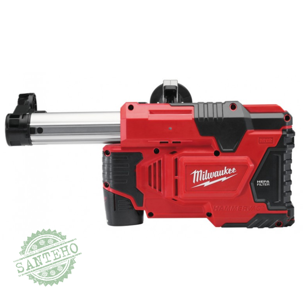 Система пылеудаления для перфоратора Milwaukee M12 DE-0C