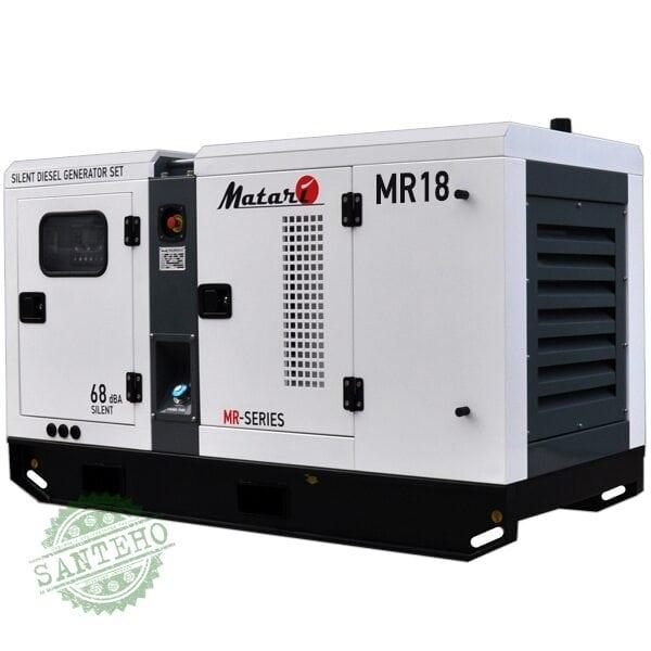 Дизельный генератор Matari MR18, купить Дизельный генератор Matari MR18