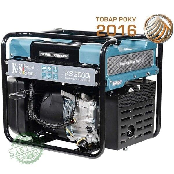 Инверторный генератор Konner&Sohnen KS 3000i, купить Инверторный генератор Konner&Sohnen KS 3000i
