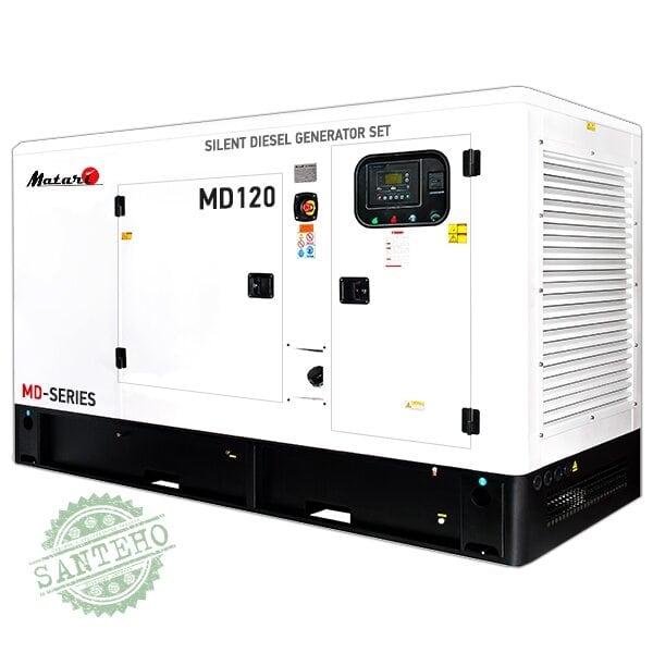 Дизельный генератор Matari MD120, купить Дизельный генератор Matari MD120