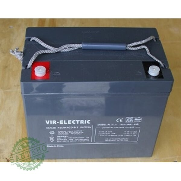 Аккумуляторная батарея Santak RA 12V75AH