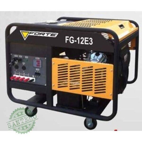 Бензиновый генератор Forte FG12E3, купить Бензиновый генератор Forte FG12E3