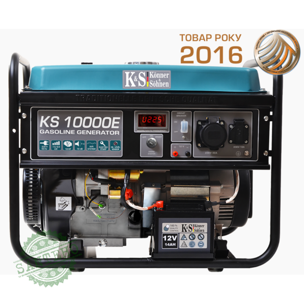 Бензиновый генератор Konner & Sohnen KS 10000E, купить Бензиновый генератор Konner & Sohnen KS 10000E