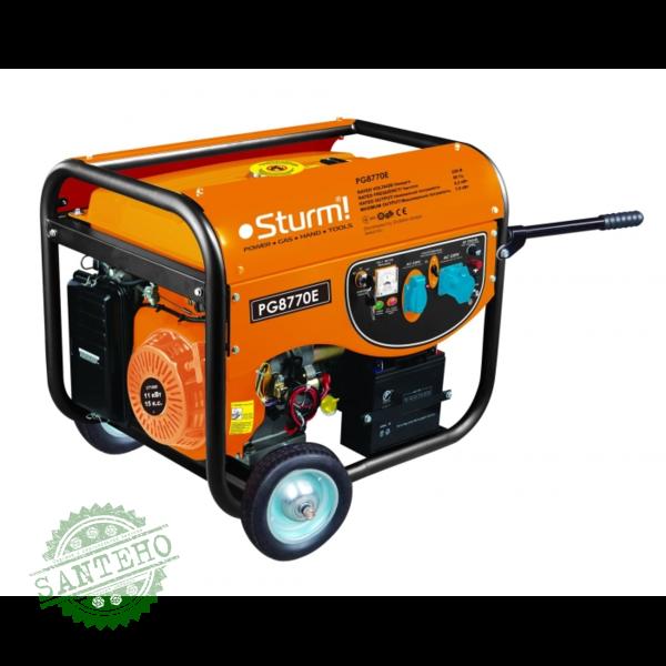 Генератор бензиновый Sturm PG8770E, купить Генератор бензиновый Sturm PG8770E