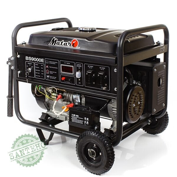 Бензиновый генератор Matari BS 9000E, купить Бензиновый генератор Matari BS 9000E