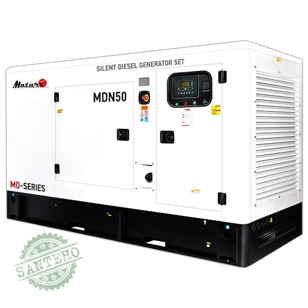 Дизельный генератор Matari MDN50, купить Дизельный генератор Matari MDN50