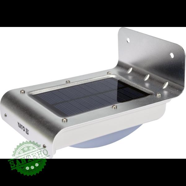 Вуличний прожектор на сонячних батареях YATO YT-81855