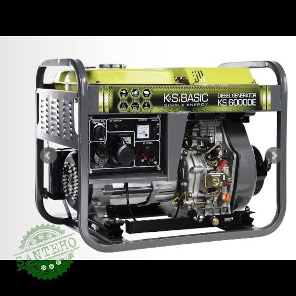Дизельный генератор Konner & Sohnen KS 6000D, купить Дизельный генератор Konner & Sohnen KS 6000D