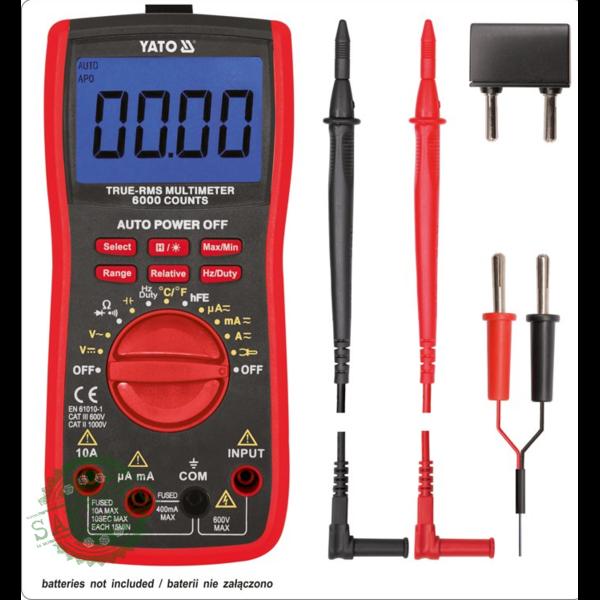 Цифровой мультиметр YATO YT-73085