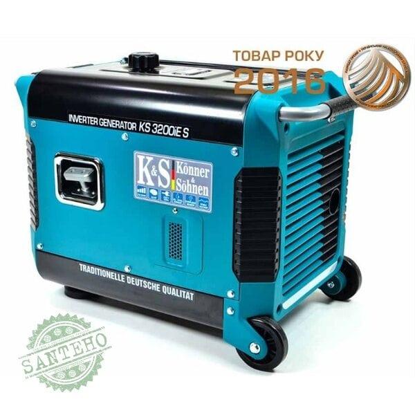 Інверторний генератор Konner & Sohnen KS 3200iE S