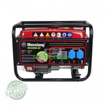 Бензиновый генератор Musstang MG2800K-BF дисплей