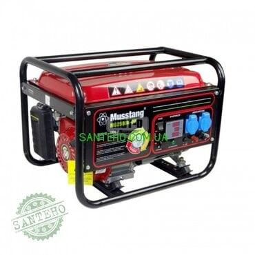 Газовый генератор Musstang MG2500K-BiFuel дисплей