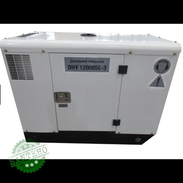 Дизельный генератор Hyundai DHY 12000SE-3, купить Дизельный генератор Hyundai DHY 12000SE-3