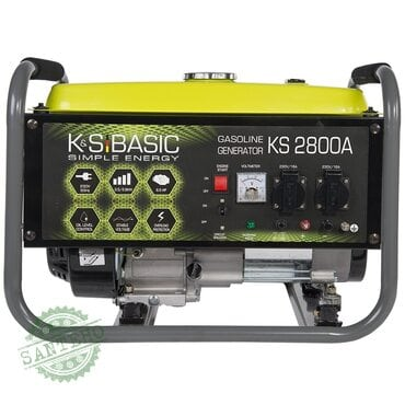 Генератор бензиновий K&S BASIC KS 2800C