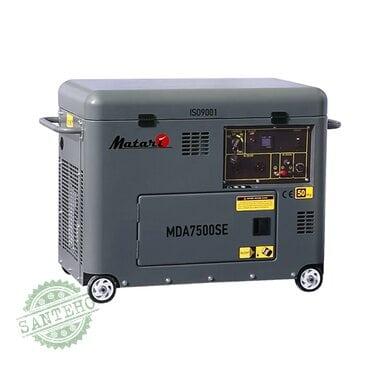 Генератор дизельний Matari MDA7000SE +ATS