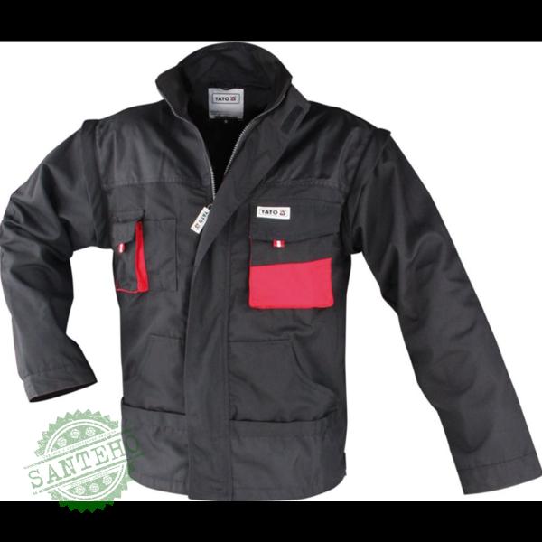 Куртка жилет рабочая мужская XXL Yato YT-8024