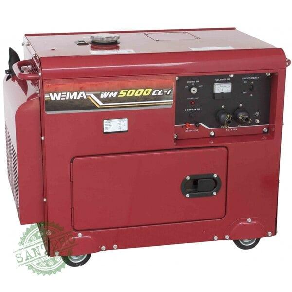 Дизельный генератор Weima WM5000CLE3