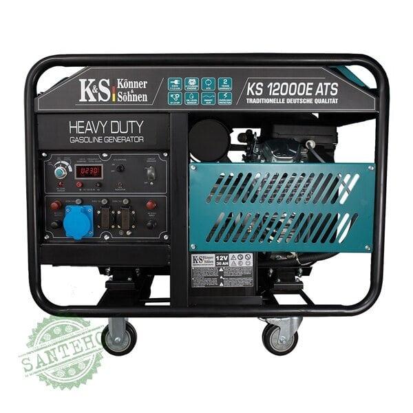 Бензиновый генератор Konner&Sohnen KS 12000E ATS, купить Бензиновый генератор Konner&Sohnen KS 12000E ATS