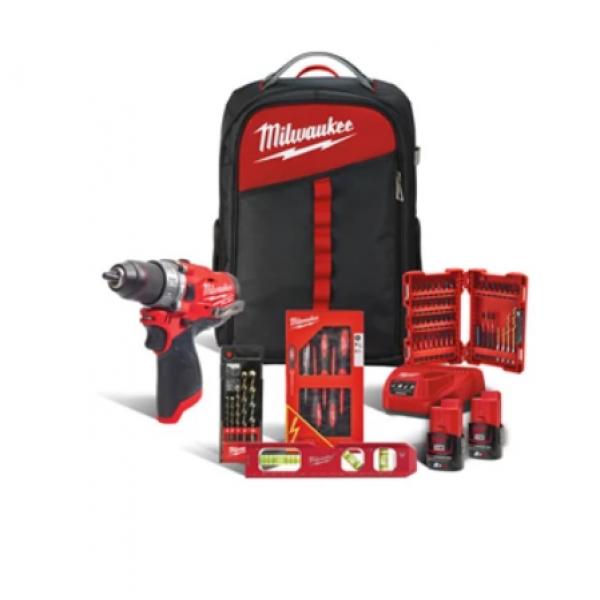Набір інструментів MILWAUKEE M12 FPD-202BH