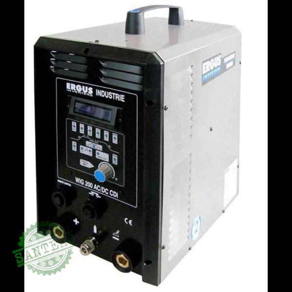 Аппарат инверторного типа Ergus WIG 200 AC/DC HF CDI