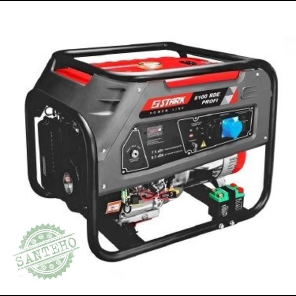 Бензиновый генератор Stark 8100 PDE Profi