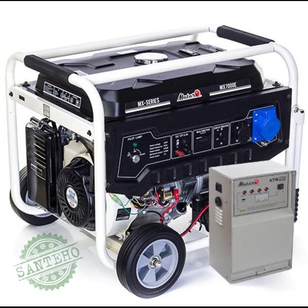 Генератор бензиновий Matari MX7000EА ATS MATARI  1P50/3P25