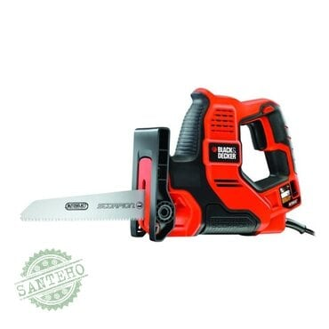Электроножовка ручка Black&Decker Scorpion RS890K