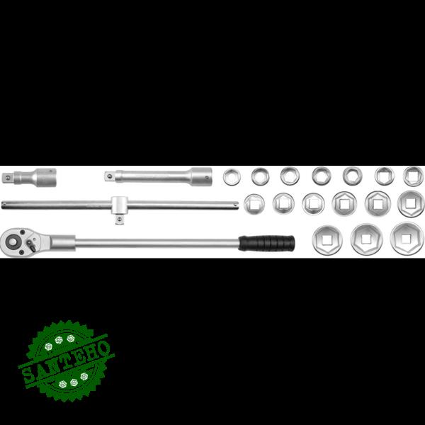 Набор головок торцевых Yato YT-1335