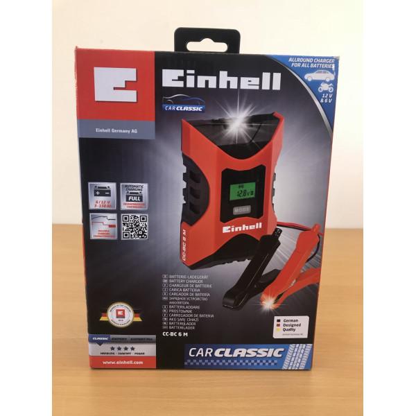 Зарядное устройство Einhell CC-BC 6 M, купить Зарядное устройство Einhell CC-BC 6 M