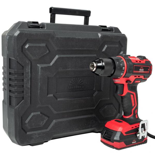 Шуруповерт акумуляторний Vitals Professional AUpc 18 / 2tli Brushless kit