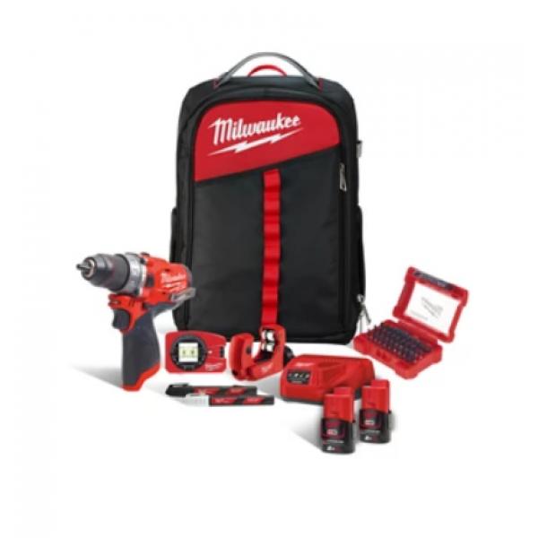 Набор инструментов MILWAUKEE M12 FPD-202XH, купить Набор инструментов MILWAUKEE M12 FPD-202XH