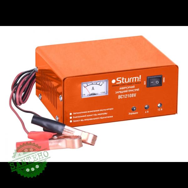 Зарядное устройство Sturm BC12108V, купить Зарядное устройство Sturm BC12108V
