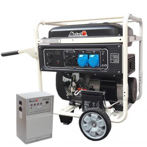 Генератор бензиновый Matari MX14000EA-ATS