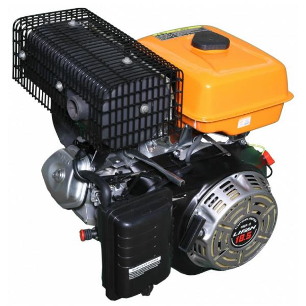 Бензиновый двигатель LF192F-2D с электростартером(Бензин-газ)