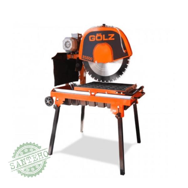 Каменерізний верстат Golz BS600 (з бензиновим або електро двигуном), купити Каменерізний верстат Golz BS600 (з бензиновим або електро двигуном)