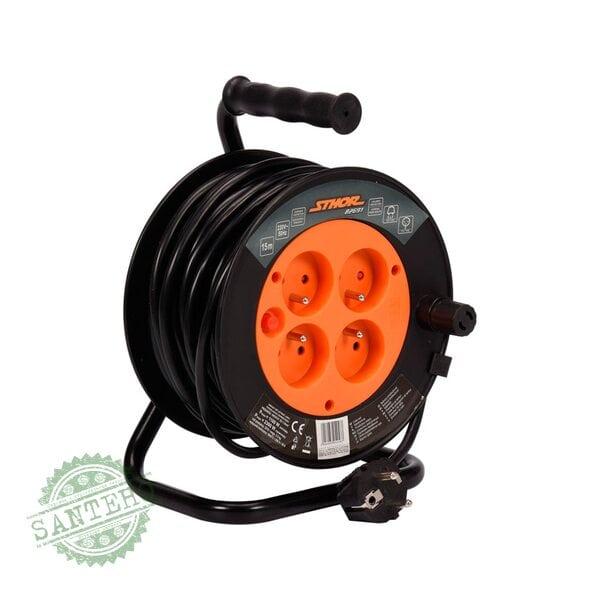 Удлинитель электрический на катушке STHOR 82694