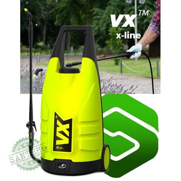 Обприскувач акумуляторний на колесах MAROLEX VX 20 л Li-Ion 3.4 Ач
